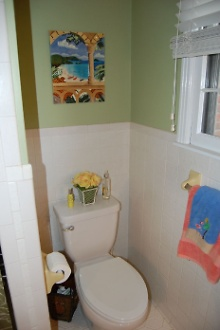 Outdated Tiled Walls