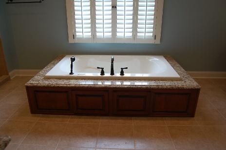 Updated Sunken Bathtub