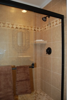 Renovated Guest Shower