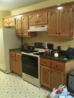 Pre-Renovated Kitchen