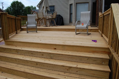 Multi-Tiered Deck