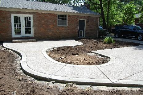 New Concrete Patio