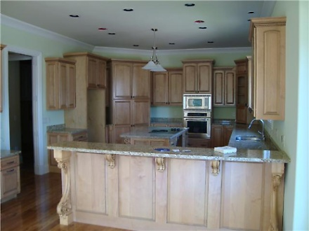 Lakefront Custom Kitchen