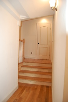 Hardwood Stairs to Attic Bedroom