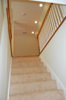 New Carpeted Steps to Craft Room