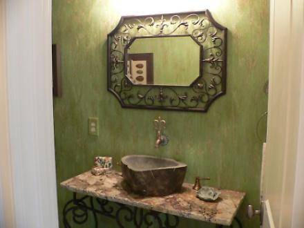 Half Bath - Unique Sink