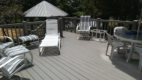 Finished deck off bonus room 2