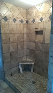 Seat in Master Shower