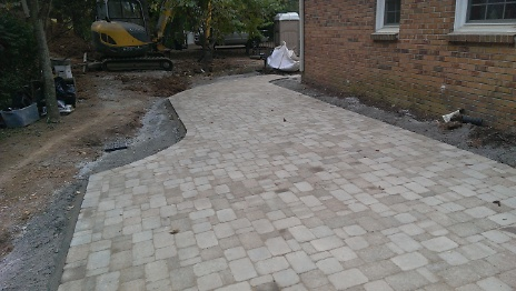 Pavers Installed 2