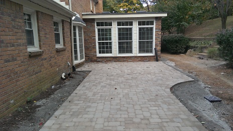 Pavers Installed 3