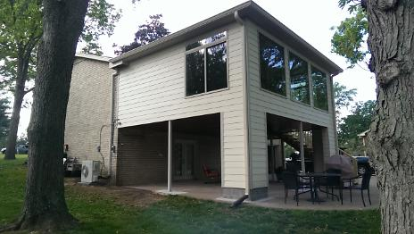 After - New Sunroom and Covered Porch