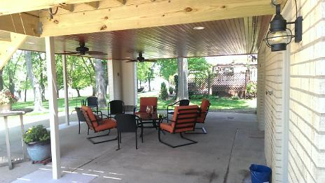 After - New Covered Porch