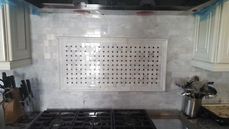 Mosaic Backsplash