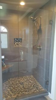 Renovated Shower