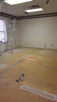 Commercial Buildout before