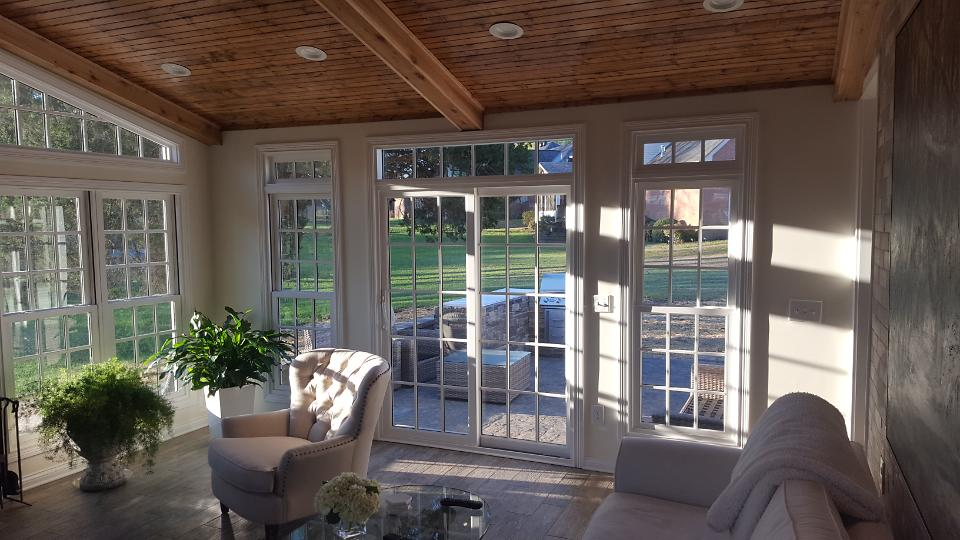 Patio doors to outside