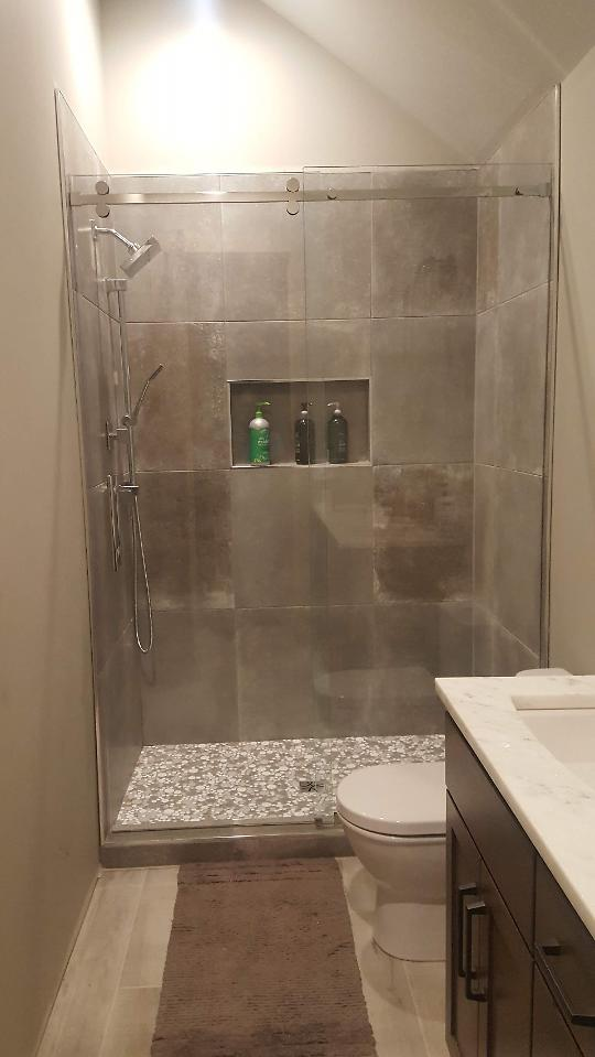 Completed boys shower 2
